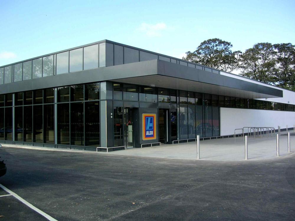 Retail Value Of Car >> NEW BUILD ALDI STORE, LEEDS – Triton Construction Ltd